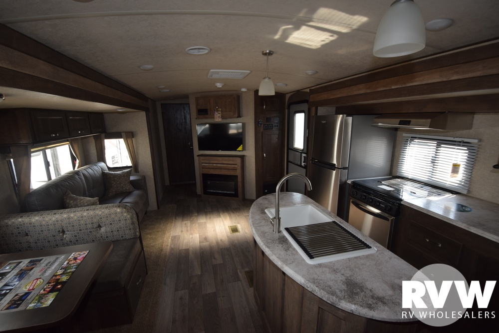 Click here to see the New 2018 Vibe 313BHS Travel Trailer by Forest River at RVWholesalers.com