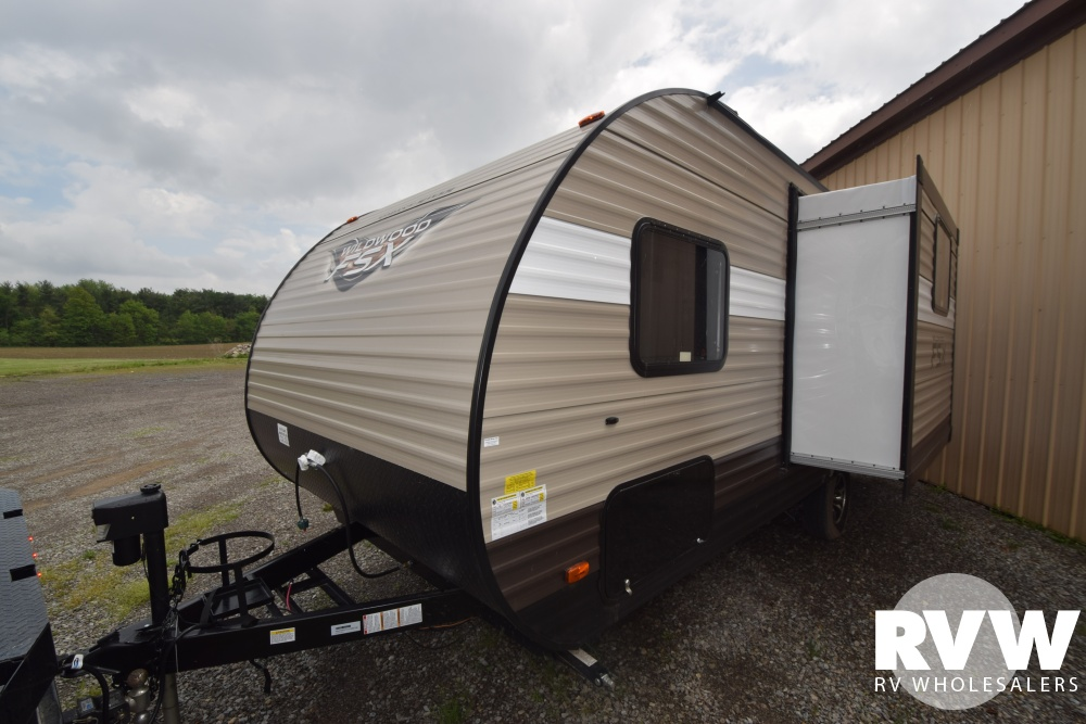 Click here to see the New 2018 Wildwood FSX 200RK Travel Trailer by Forest River at RVWholesalers.com