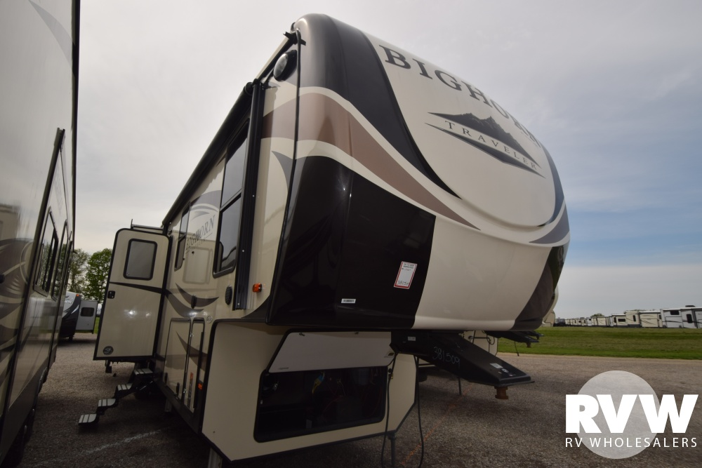 Click here to see the New 2018 Bighorn Traveler 38BH Fifth Wheel by Heartland RV at RVWholesalers.com