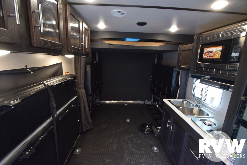 Click here to see the New 2018 XLR Hyper Lite 26HFS Toy Hauler Travel Trailer by Forest River at RVWholesalers.com