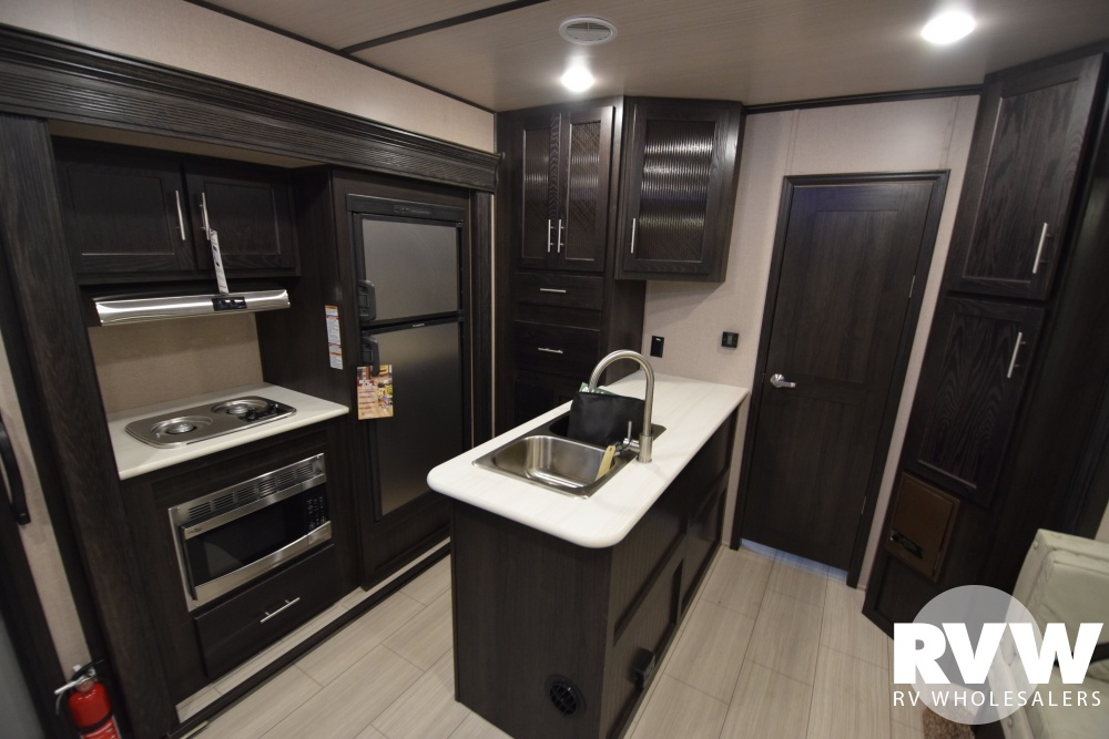 Click here to see the New 2018 XLR Hyper Lite 30HDS Toy Hauler Travel Trailer by Forest River at RVWholesalers.com