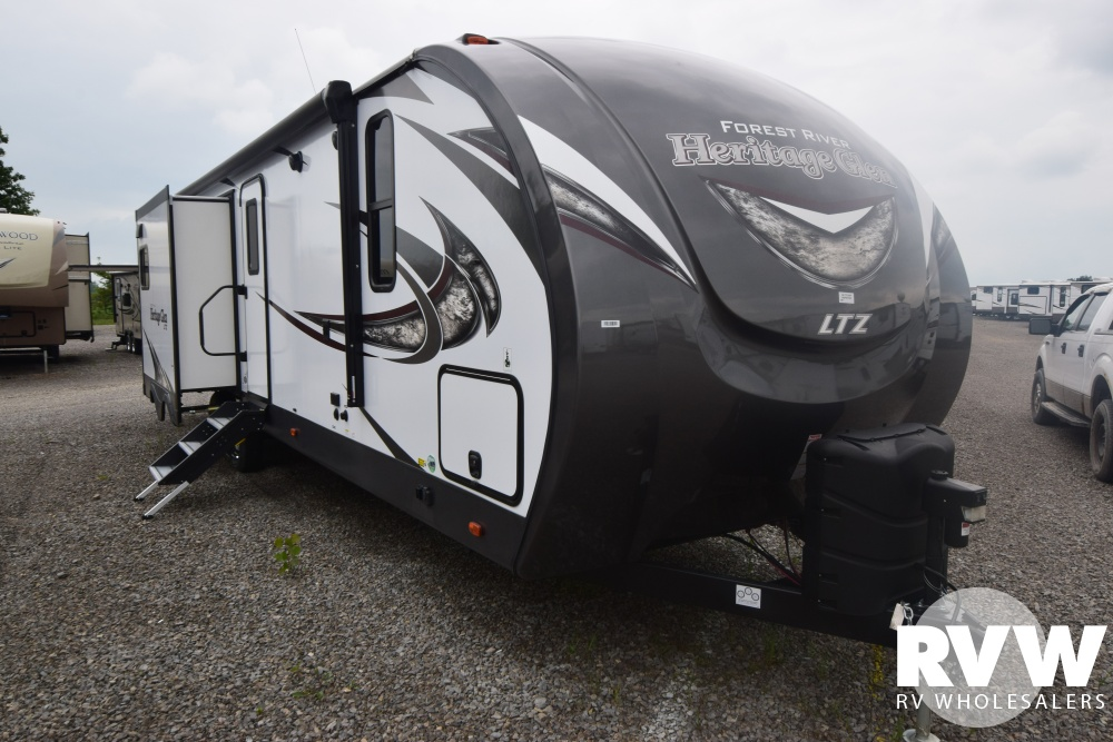 Click here to see the New 2019 Heritage Glen LTZ 300BH Travel Trailer by Forest River at RVWholesalers.com