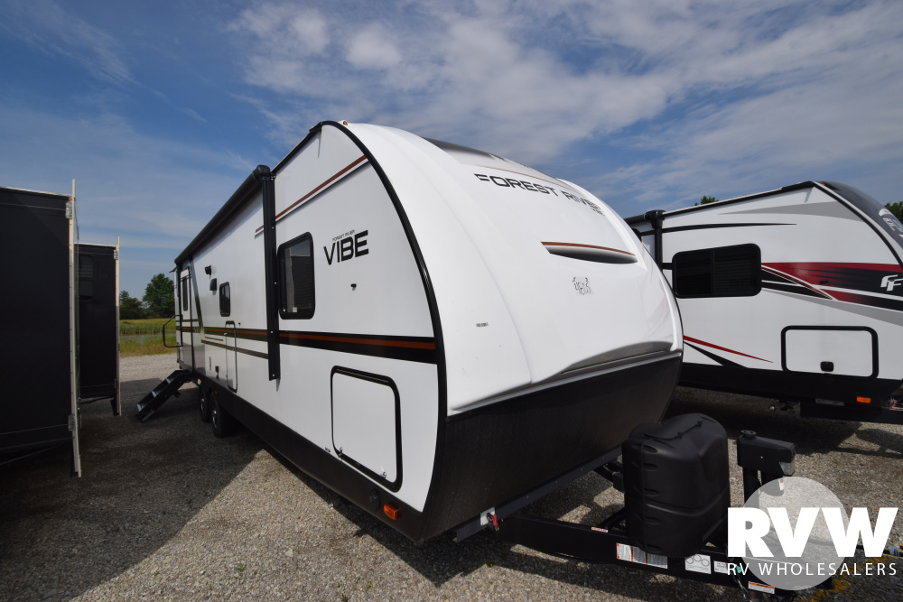 Click here to see the New 2019 Vibe 28BH Travel Trailer by Forest River at RVWholesalers.com