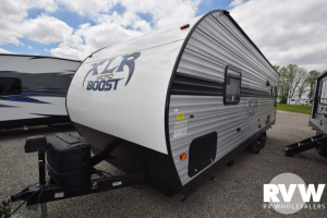 2020 Forest River XLR Micro Boost 25LRLE Toy Hauler Travel Trailer: image 1