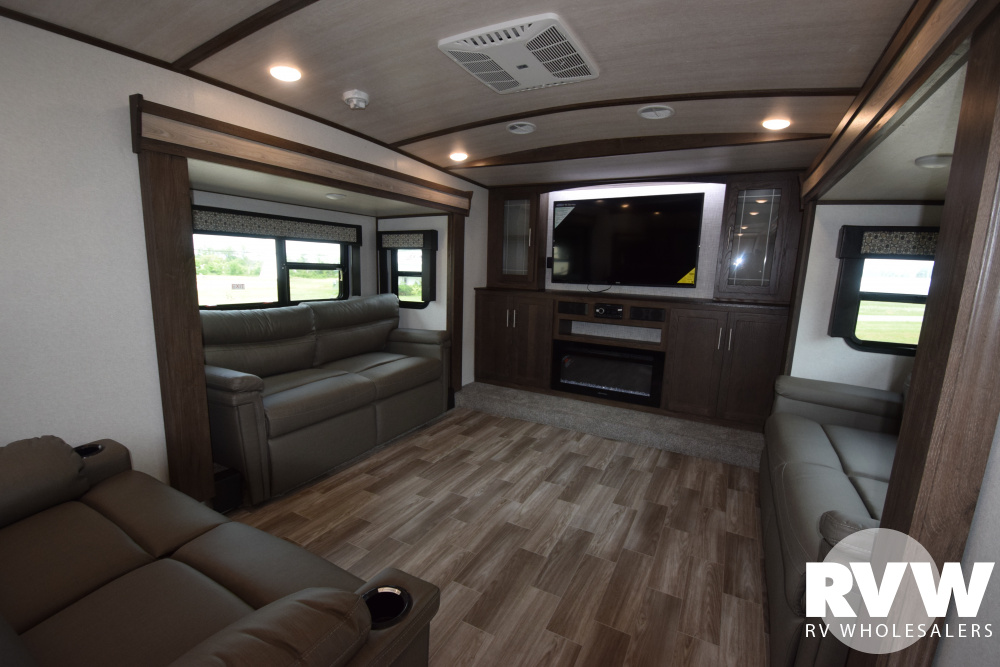 Click here to see the New 2020 Heritage Glen LTZ 378FL Fifth Wheel by Forest River at RVWholesalers.com