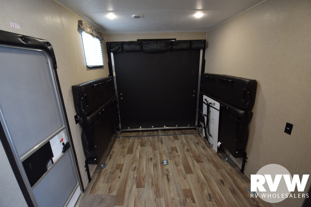 Click here to see the New 2020 Puma XLE 29FQC Toy Hauler Travel Trailer by Palomino at RVWholesalers.com