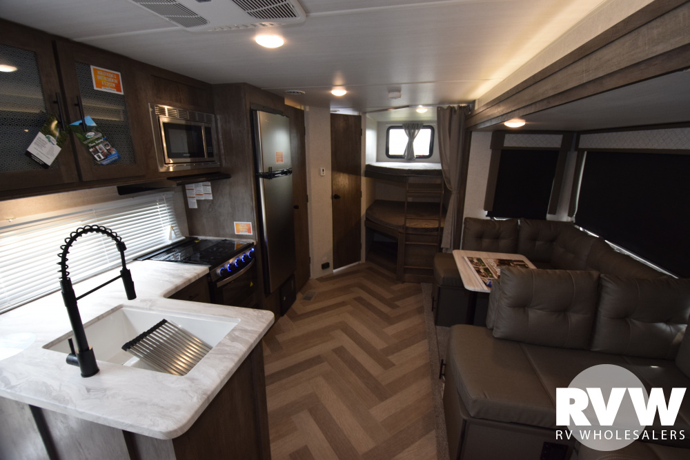 Click here to see the New 2020 Wildwood 26DBUD Travel Trailer by Forest River at RVNation.us