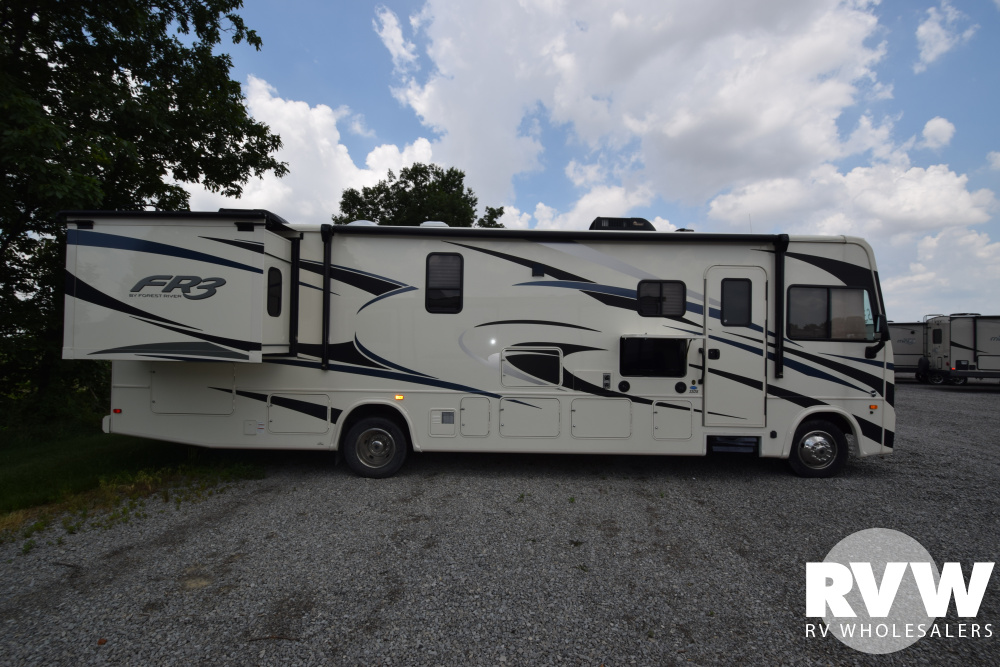Click here to see the New 2020 FR3 33DS Class A Motorhome by Forest River at RVWholesalers.com