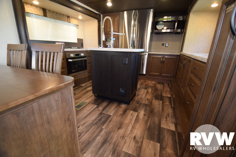 Click here to see the New 2020 Sandpiper 38FKOK Fifth Wheel by Forest River at RVWholesalers.com