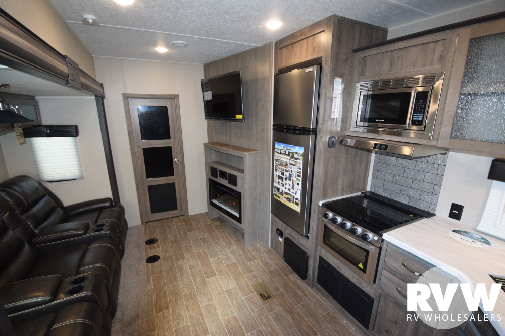 Click here to see the New 2020 Puma 381FTB Toy Hauler Fifth Wheel by Palomino at RVWholesalers.com