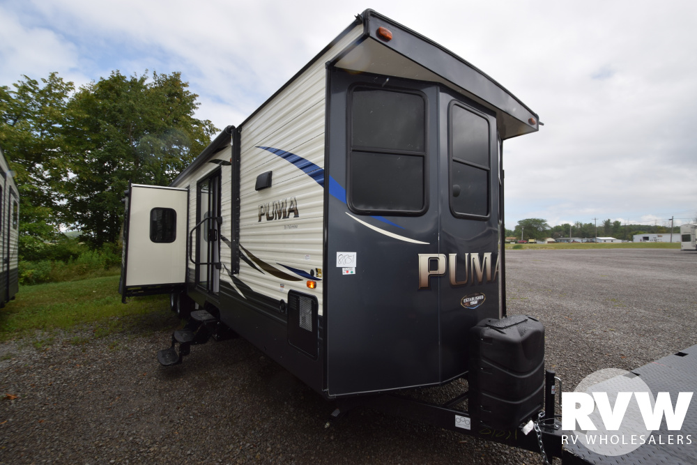 Click here to see the New 2020 Puma Park 39FKL Park Trailer by Palomino at RVWholesalers.com