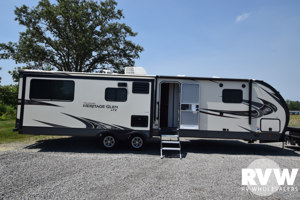Click here to see the New 2020 Heritage Glen LTZ 326RL Travel Trailer by Forest River at RVWholesalers.com