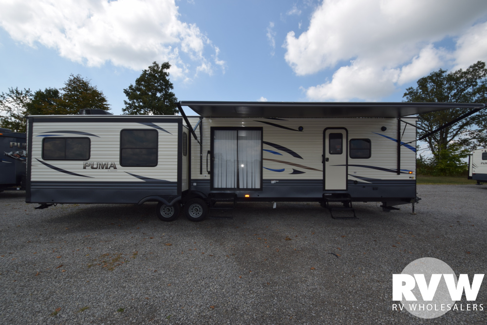 Click here to see the New 2020 Puma Park 38RLB Park Trailer by Palomino at RVWholesalers.com
