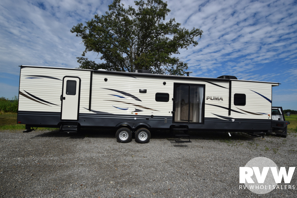 Click here to see the New 2020 Puma Park 38DBS Park Trailer by Palomino at RVWholesalers.com