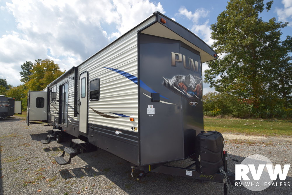Click here to see the New 2020 Puma Park 38DEN Park Trailer by Palomino at RVWholesalers.com