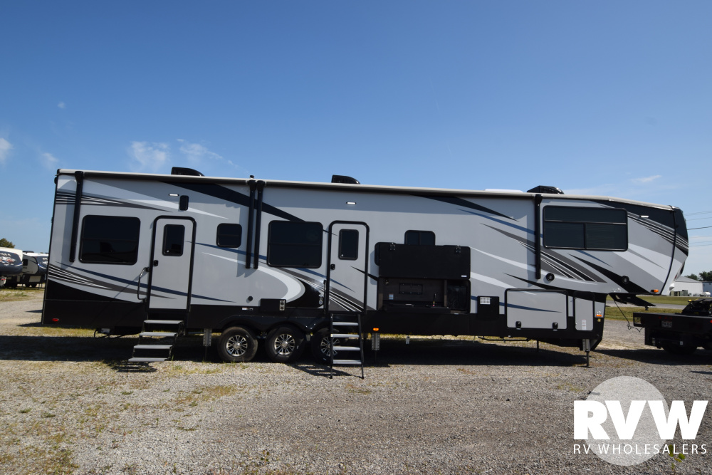 Click here to see the New 2020 Cyclone 4007 Toy Hauler Fifth Wheel by Heartland at RVWholesalers.com