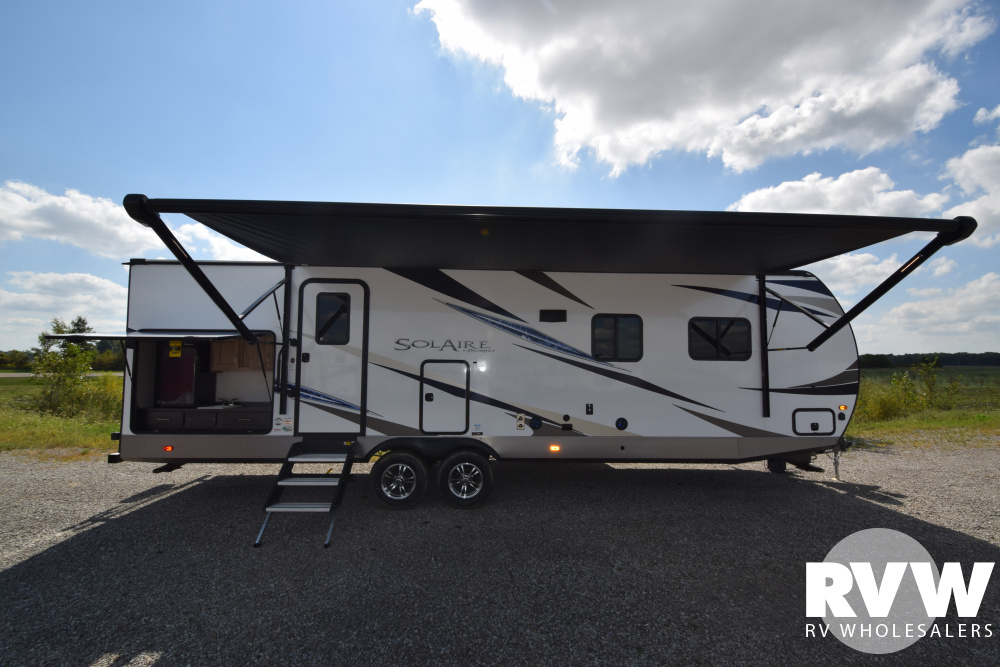 Click here to see the New 2020 Solaire Ultra Lite 258RBSS Travel Trailer by Palomino at RVWholesalers.com