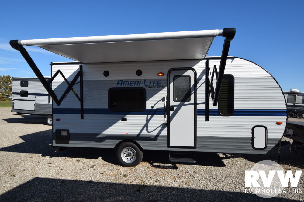 Click here to see the New 2020 Ameri-lite Super Lite 189DD Travel Trailer by Gulf Stream at RVNation.us