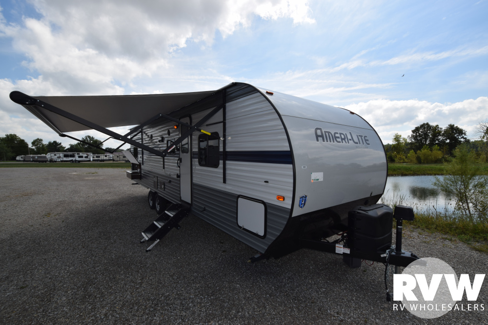 Click here to see the New 2020 Ameri-lite Ultra Lite 281BH Travel Trailer by Gulf Stream at RVWholesalers.com