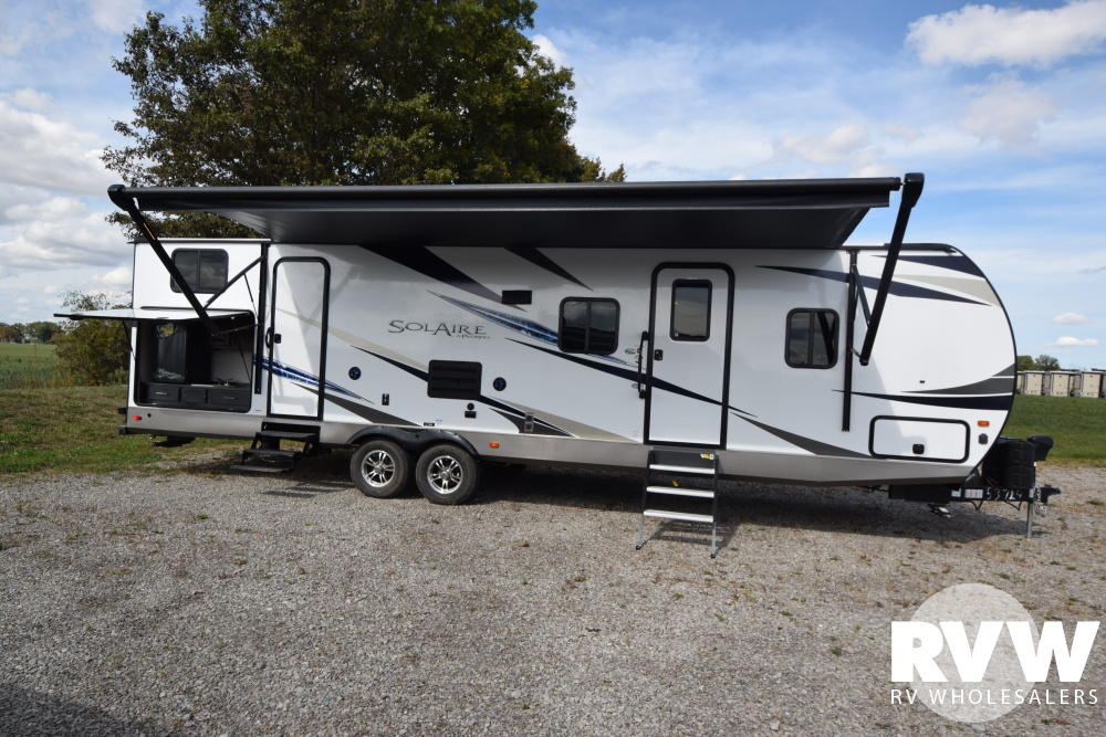Click here to see the New 2020 Solaire Ultra Lite 317BHSK Travel Trailer by Palomino at RVNation.us