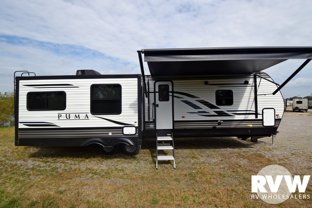 Click here to see the New 2020 Puma 31RLQS Travel Trailer by Palomino at RVWholesalers.com