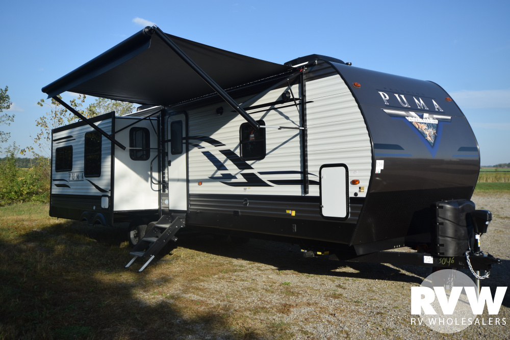Click here to see the New 2020 Puma 31RLQS Travel Trailer by Palomino at RVNation.us