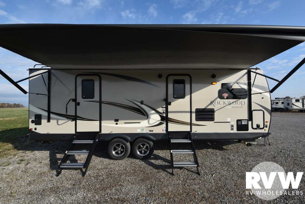 Click here to see the New 2020 Rockwood Ultra Lite 2608BS Travel Trailer by Forest River at RVWholesalers.com