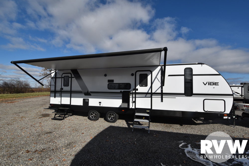 Click here to see the New 2020 Vibe 26BH Travel Trailer by Forest River at RVWholesalers.com