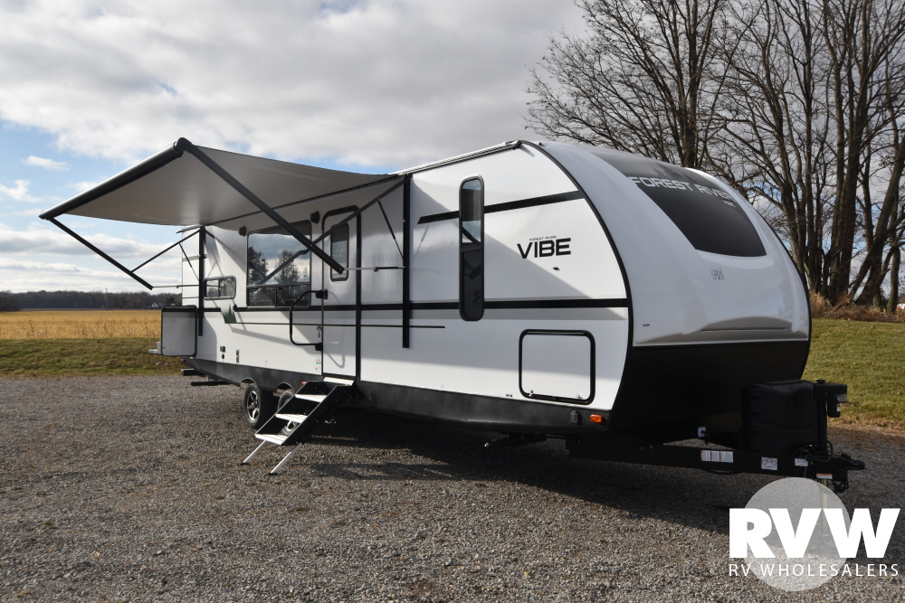 Click here to see the New 2020 Vibe 26RK Travel Trailer by Forest River at RVWholesalers.com
