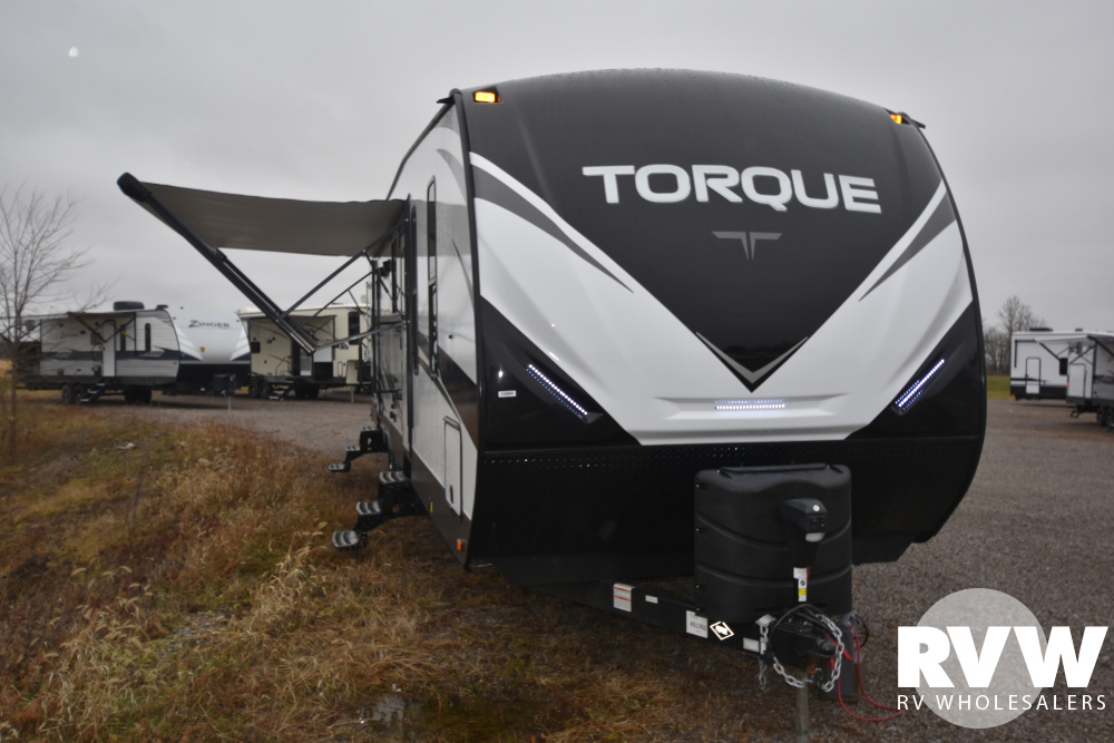 Click here to see the New 2020 Torque XLT T333 Toy Hauler Travel Trailer by Heartland at RVWholesalers.com
