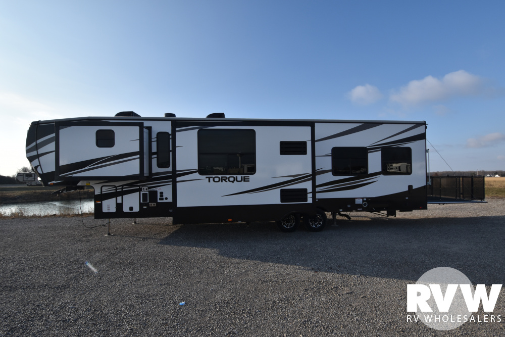 Click here to see the New 2020 Torque 371 Toy Hauler Fifth Wheel by Heartland at RVWholesalers.com