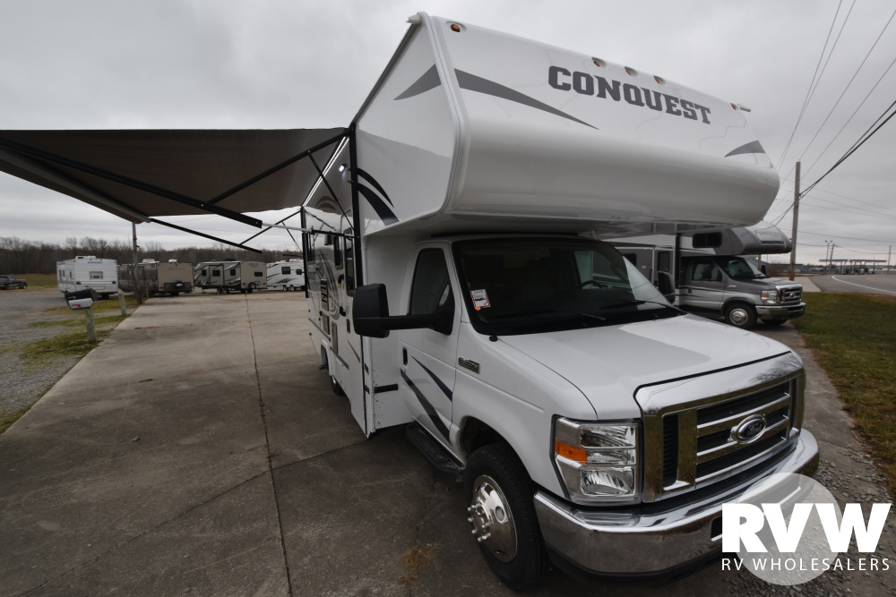 Click here to see the New 2020 Conquest Limited Edition 6237LE Class C Motorhome by Gulf Stream at RVWholesalers.com