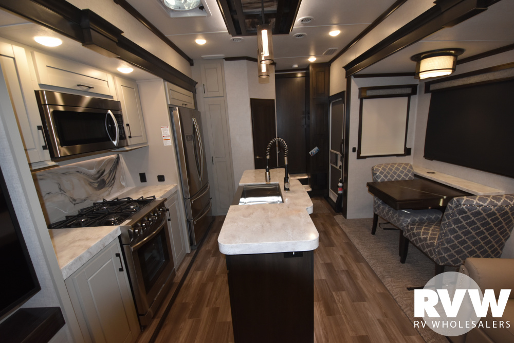 Click here to see the New 2020 Redwood 3901MB Fifth Wheel by Crossroads at RVWholesalers.com