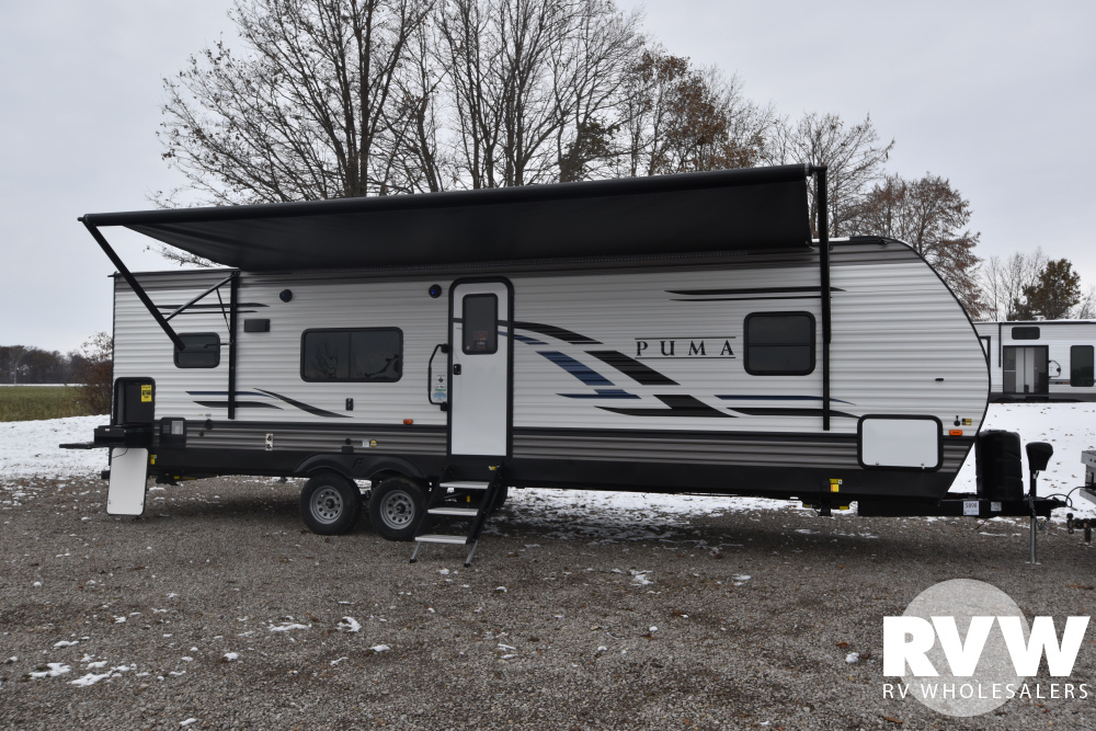 Click here to see the New 2020 Puma 28RKQS Travel Trailer by Palomino at RVWholesalers.com