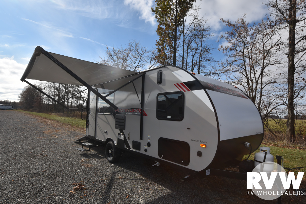Click here to see the New 2020 Wildwood FSX 181RT Toy Hauler Travel Trailer by Forest River at RVWholesalers.com