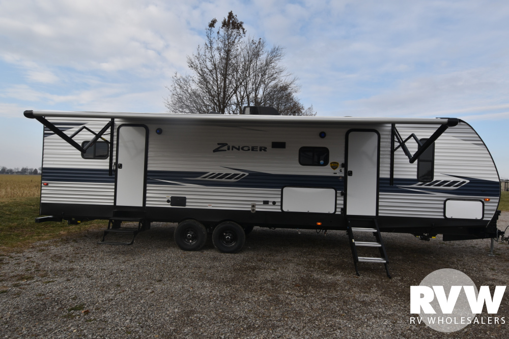Click here to see the New 2020 Zinger 320FB Travel Trailer by Crossroads at RVWholesalers.com