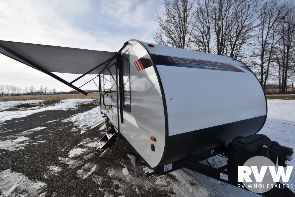 Click here to see the New 2020 Wildwood FSX 190RT Toy Hauler Travel Trailer by Forest River at RVWholesalers.com