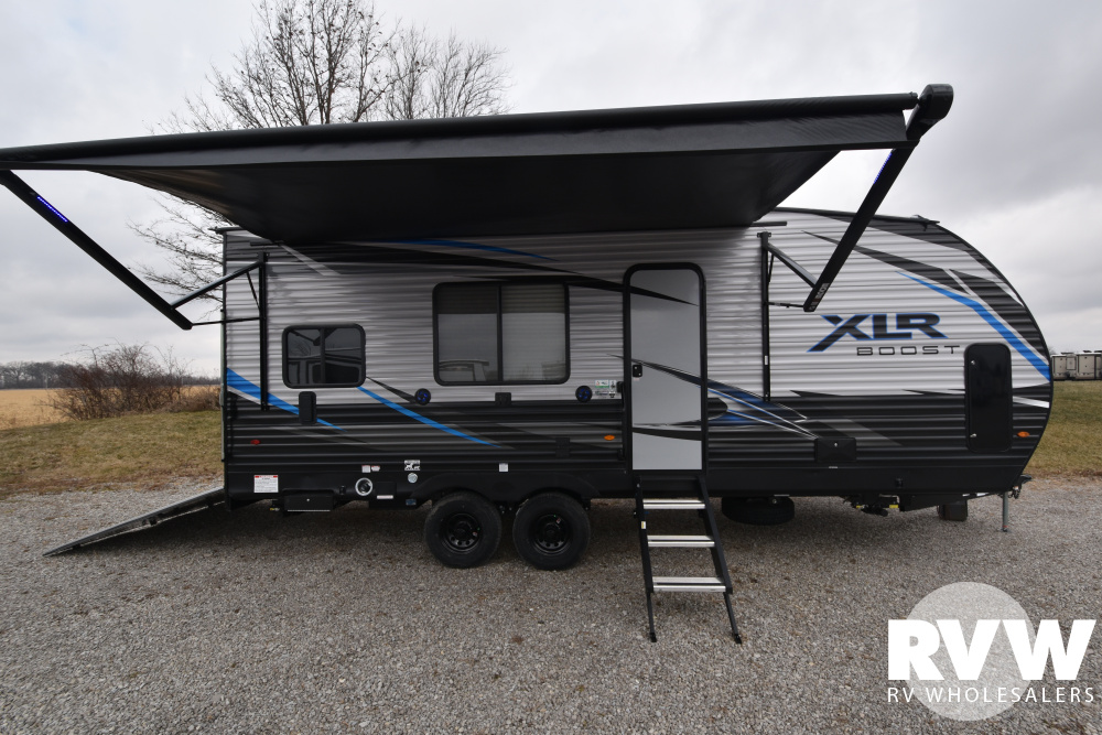 Click here to see the New 2020 XLR Boost 21QBS Toy Hauler Travel Trailer by Forest River at RVWholesalers.com