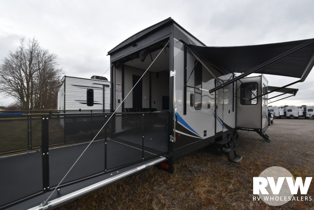 Click here to see the New 2020 XLR Boost 37TSX13 Toy Hauler Fifth Wheel by Forest River at RVWholesalers.com