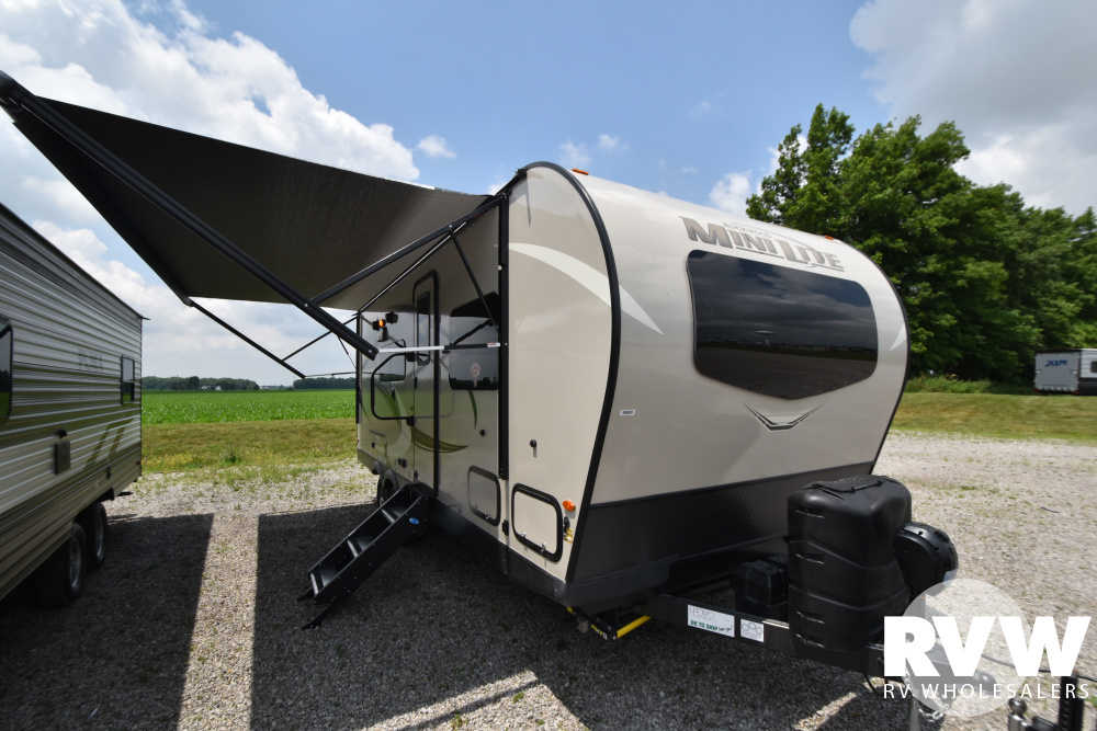 Click here to see the New 2021 Rockwood Mini Lite 2204S Travel Trailer by Forest River at RVWholesalers.com