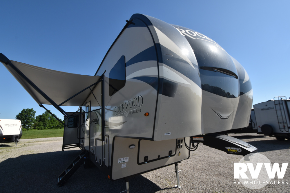Click here to see the New 2021 Rockwood Ultra Lite 2898KS Fifth Wheel by Forest River at RVWholesalers.com