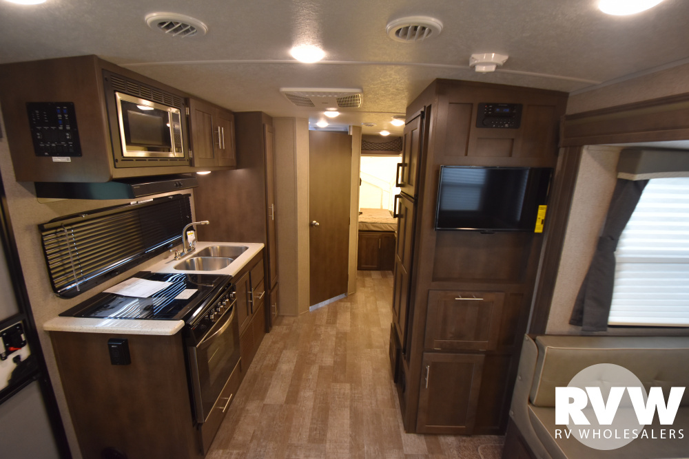 Click here to see the New 2021 Rockwood Roo 233S Hybrid Camper by Forest River at RVWholesalers.com