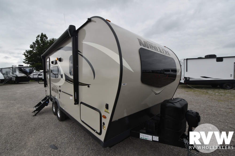 Click here to see the New 2021 Rockwood Mini Lite 2109S Travel Trailer by Forest River at RVWholesalers.com