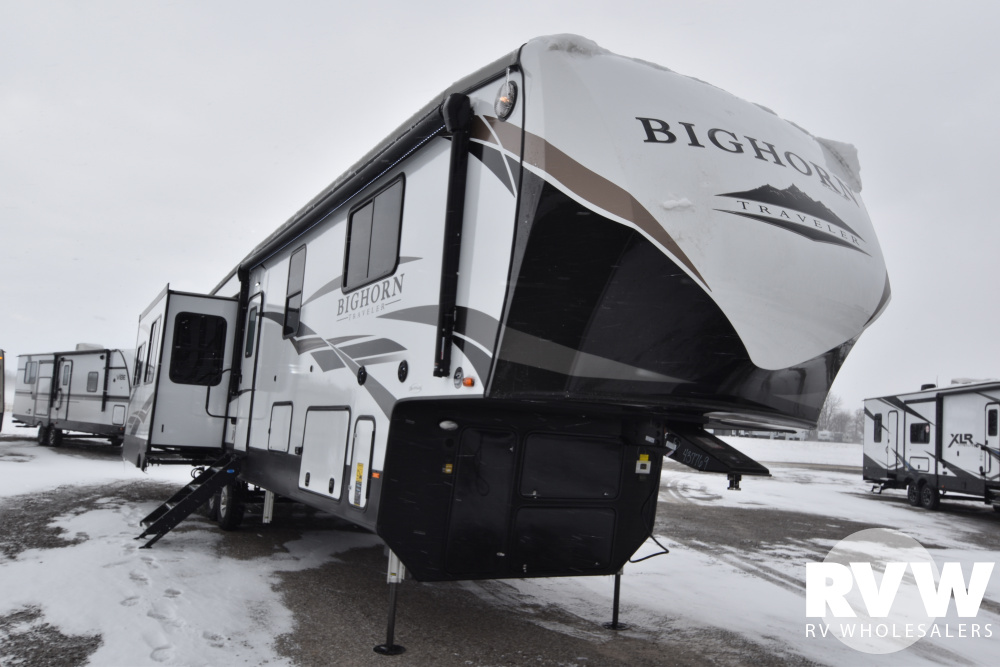 Click here to see the New 2020 Bighorn Traveler 39MB Fifth Wheel by Heartland at RVWholesalers.com