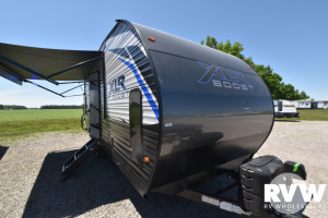 2021 Forest River XLR Boost 21QBS Toy Hauler Travel Trailer: image 1