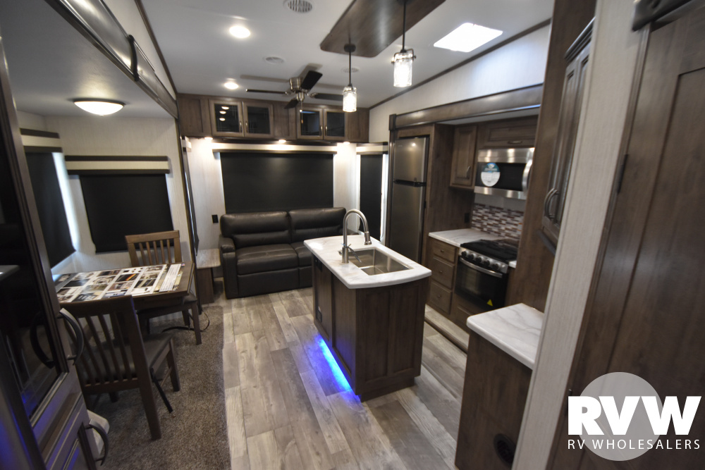 Click here to see the New 2021 Sandpiper C-Class 3220RL Fifth Wheel by Forest River at RVWholesalers.com