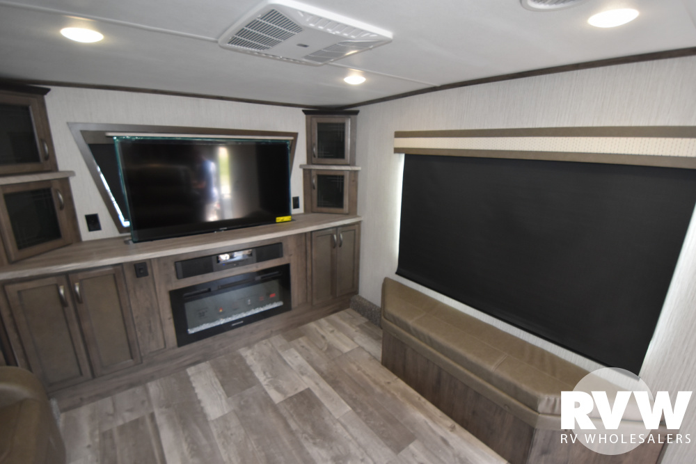 Click here to see the New 2021 Sandpiper C-Class 3550FL Fifth Wheel by Forest River at RVWholesalers.com