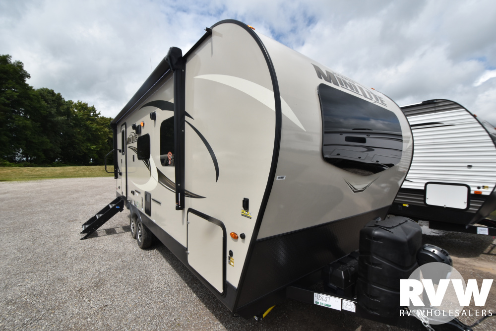 Click here to see the New 2021 Rockwood Mini Lite 2511S Travel Trailer by Forest River at RVWholesalers.com