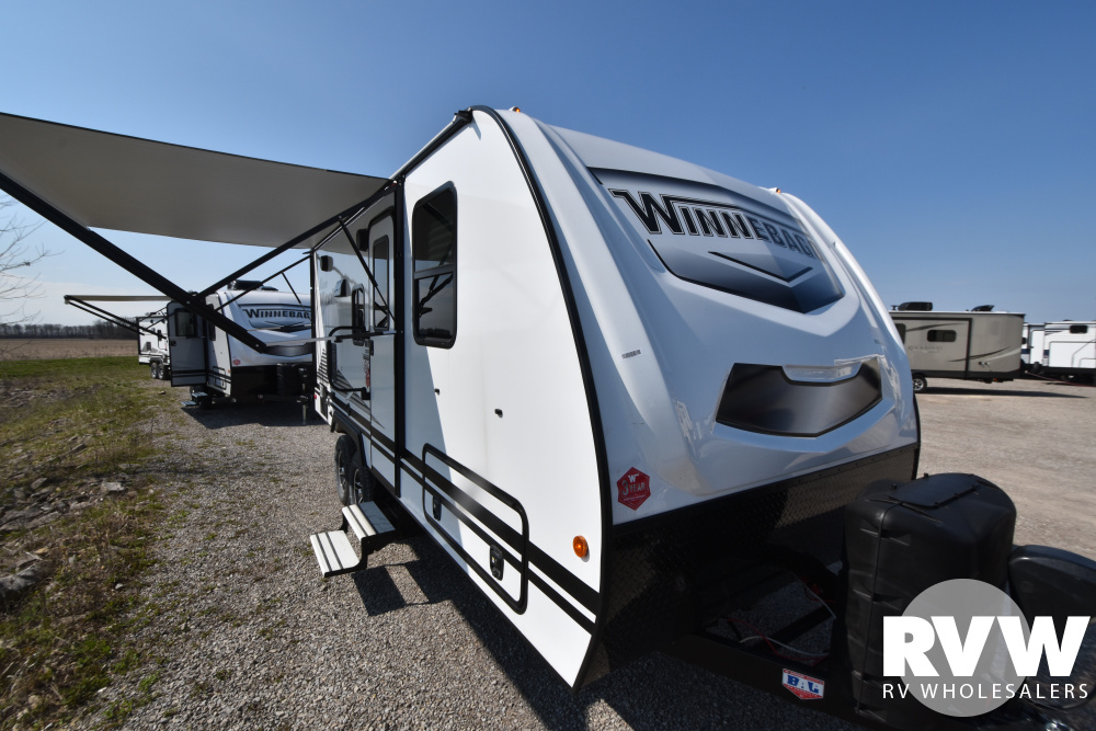 Click here to see the New 2021 Winnebago Micro Minnie 2108DS Travel Trailer by Winnebago at RVWholesalers.com