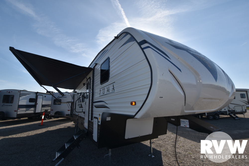 Click here to see the New 2020 Puma 295BHSS Fifth Wheel by Palomino at RVWholesalers.com